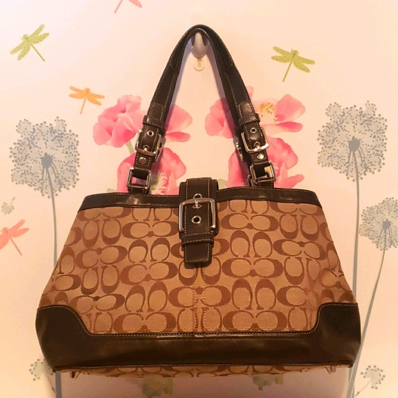 Coach large satchel